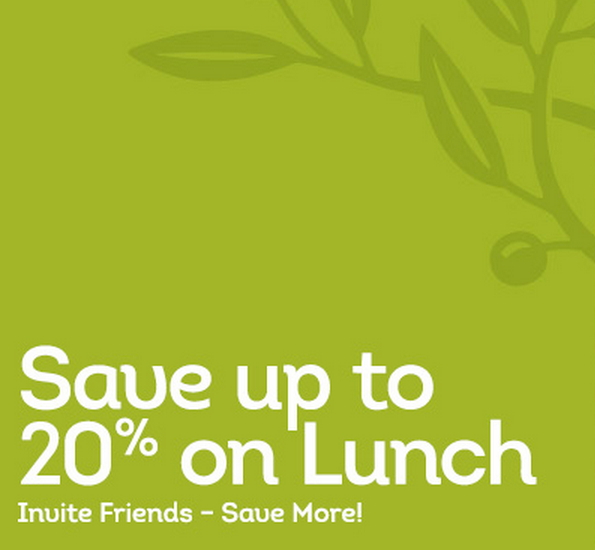 You Can Save Up To 20 Off Lunch At The Olive Garden Until 10 2 The More Friends You Invite