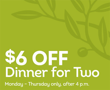You Can Take Off Dinner For Two At The Olive Garden For A Limited Time Monday Thursday