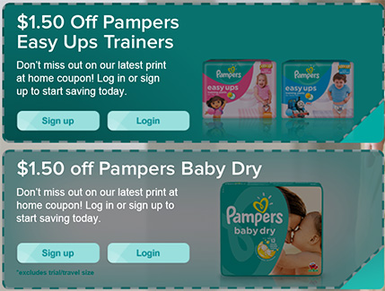 Shop for coupons on diapers pampers online at Target. Free shipping & returns and save 5% every day with your Target REDcard.