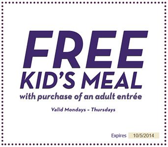 Free Kids Meal W Adult Entree Purchase Olive Garden Free4seniors