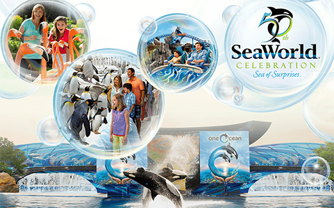 Sea world freebies