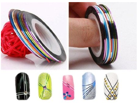 Nail Tape Decorations