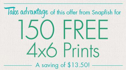 Snapfish 150 free prints