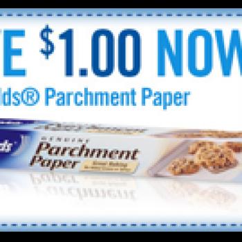 $1 Off Reynolds Parchment Paper