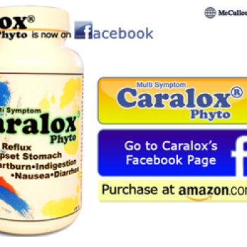 Free Sample of Caralox Phyto for Acid Reflux, Heartburn and more