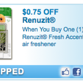 Renuzit Fresh Accents Coupon