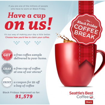 free sample of seattle s best coffee coupon free 4 seniors