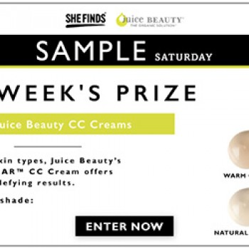 SheFinds Juice Beauty CC Cream Giveaway - Free 4 Seniors
