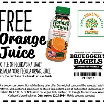 Bruegger bagels coupons mn