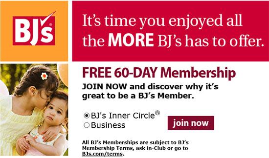 Free 60 Day Bj S Membership Free 4 Seniors