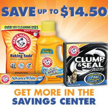 Arm & Hammer Coupons