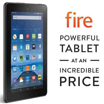 """7"""" Amazon Fire Tablet 8GB Only $49.99 + Prime"""