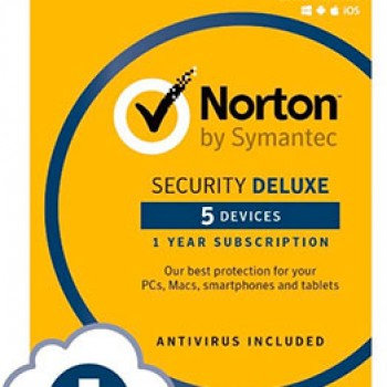 Norton Security Deluxe - 5 Devices Only $19.99 (Reg $79.99)