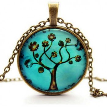 Tree of Life Pendant & Necklace Only $5.25 + Free Shipping