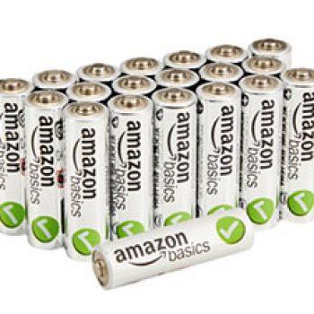 AmazonBasics AA Batteries 20-Pack Just $7.68 + Prime