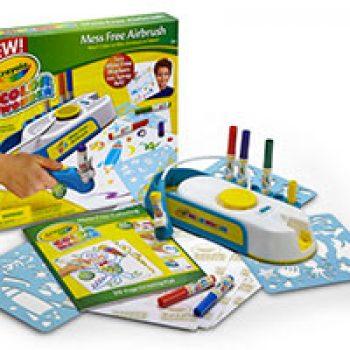 Crayola Mess Free Airbrush Kit Only 500 Store Pickup