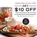 Macaroni Grill: Take $10 Off $30 Until 9/25