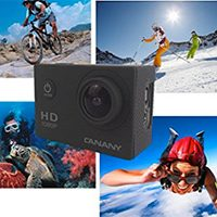 Canany Waterproof Action Camera Just $39.98 + Prime