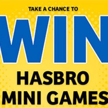 Win Hasbro Mini Games Instantly