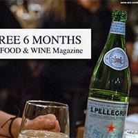 Free Food & Wine Magazine Subscription