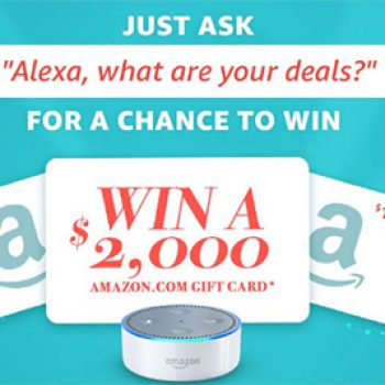 Win a $1,000 Amazon Gift Card - Ends Dec. 15th