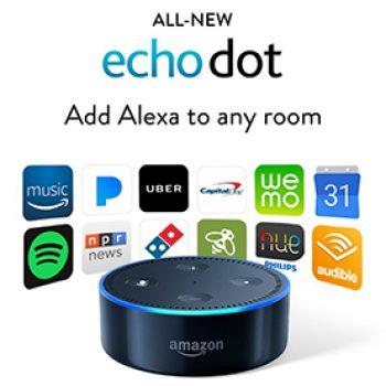 Echo Dot Sale Only $39.99 (Reg $49.99) + Prime