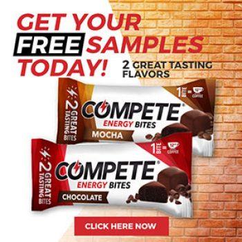 Free Compete Energy Bites Samples