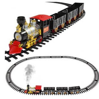 Classic Train Set For Kids Just $34.94 + Free Shipping