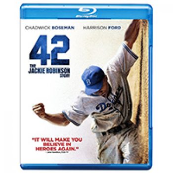 42: The Jackie Robinson Story (Blu-ray + UltraViolet) Just $4.00 + Prime
