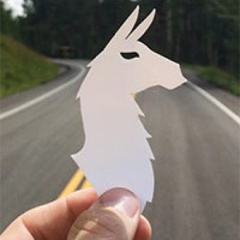 Free Cotopaxi Llama Sticker