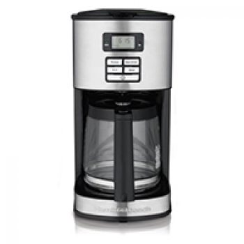 Hamilton Beach 12-Cup Programmable Coffeemaker Just $19.88 (Reg $39.99) + Free Pickup