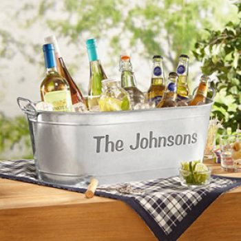 Personalized Beverage Tub Just $25.99 + Free Pickup