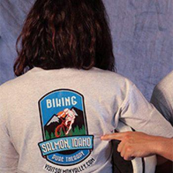 Free Visit Salmon Valley T-Shirt