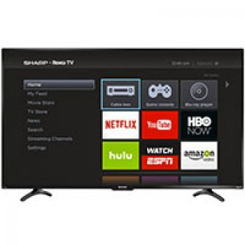 """Sharp 55"""" Class LED 1080p Roku HDTV Just $399.99 (Reg $499.99) + Free Delivery"""