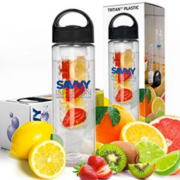 Savvy Infusion Water Bottle Just $15.95 (Reg $28.95) + Prime