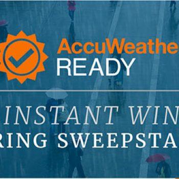 AccuWeather: Win Gear & $1k Visa Gift Card