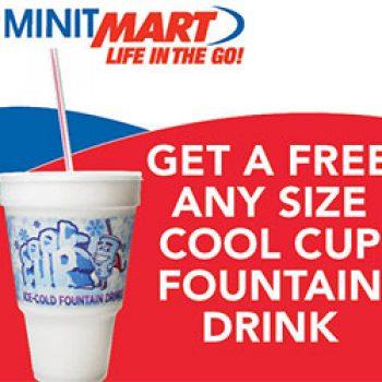 TA/Petro: Free MinitMart Fountain Drink