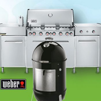 Win a Weber Smokey Mountain Cooker or Grill