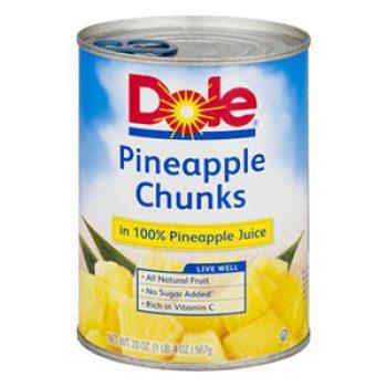 Dole Canned Fruit Coupon
