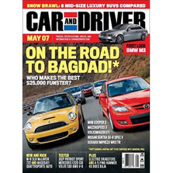 Free Subscription: Car & Driver Magazine