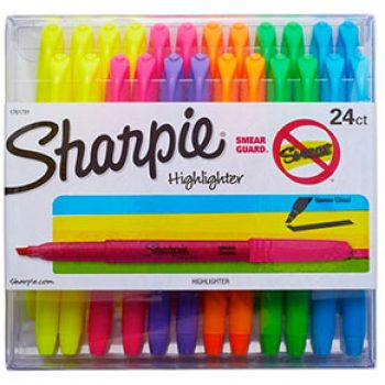 Sharpie Accent Pocket Highlighters, 24-Count Just $8.06 (Reg $15)