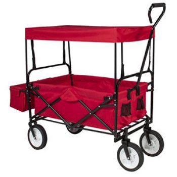 Folding Garden Wagon W/ Canopy Just $63.99 (Reg $180)
