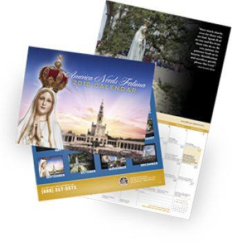 Free 2018 Fatima Calendar
