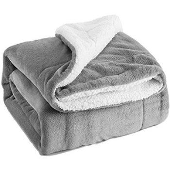 Sherpa Throw Blanket Just $25.99 (Reg $40)