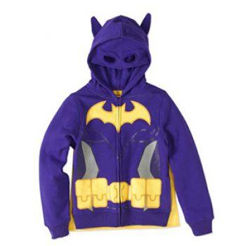 Girls' LEGO Batgirl Hoodie W/ Cape Just $10.50