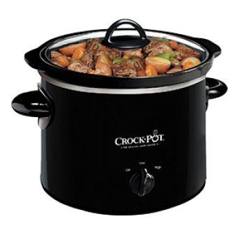 Crock-Pot 2-QT Round Manual Slow Cooker Just $9.99