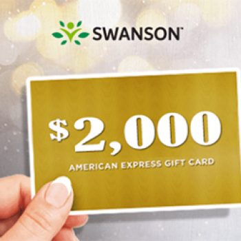 Swanson: Win a $2,000 AMEX Gift Card