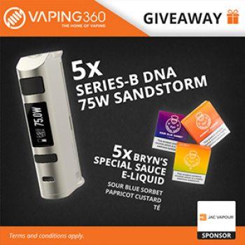 Win a DNA Vape & eJuice - Free 4 Seniors