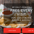 My Chili's Rewards: Free Chips or Drink