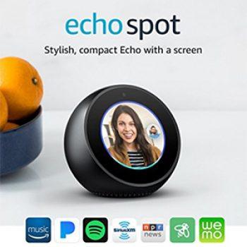 Echo Spot Just $109.99 (Reg $129.99)